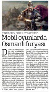 Basında ozan aydemir Türkiye Gazetesi 16.03.2020